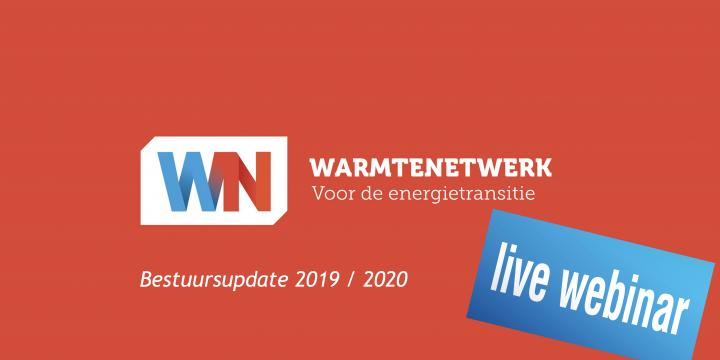 Opname webinar jaarverslag bestuur Stichting Warmtenetwerk