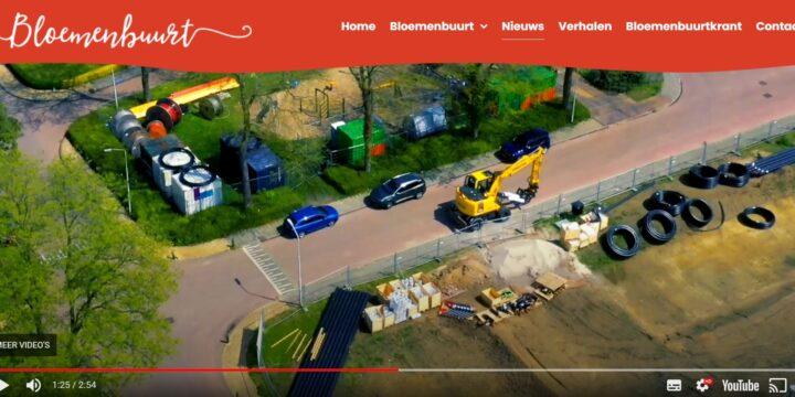 Filmpje over de aanleg van warmtenet Bloemenbuurt Didam