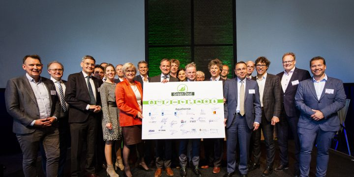 Ondertekening Green Deal Aquathermie
