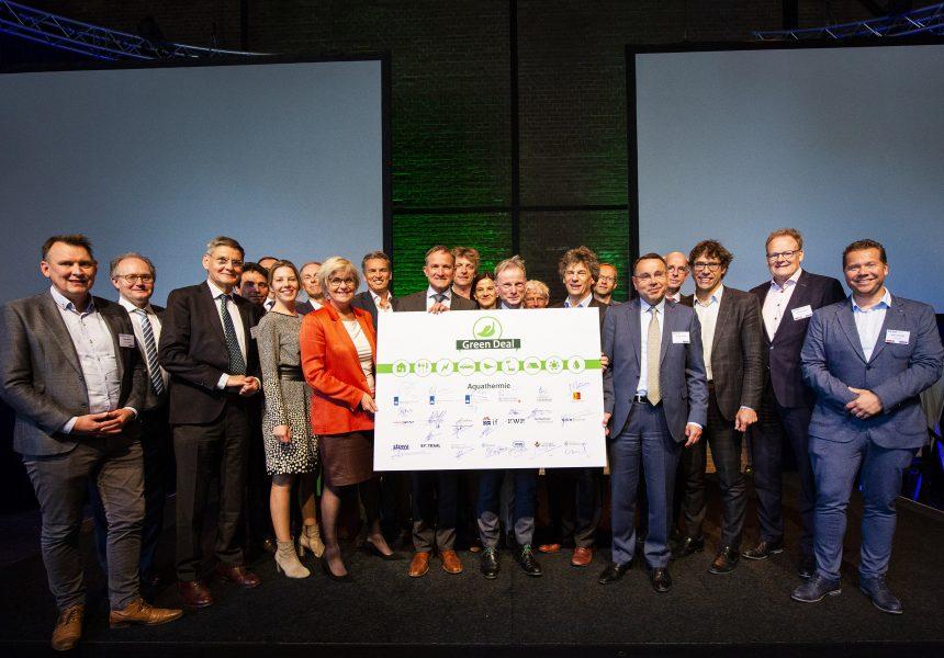 Ondertekening Green Deal Aquathermie