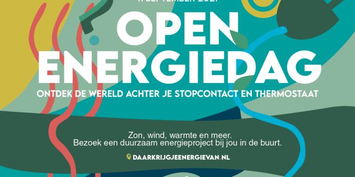 Open Energie Dag en campagne draagvlak voor energietransitie
