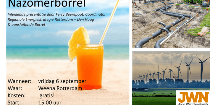 Save the date: Jong Warmtenetwerk nazomerborrel