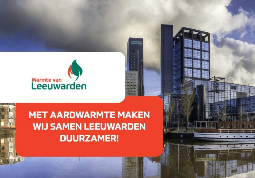Aardwarmteproject Warmte van Leeuwarden officieel van start
