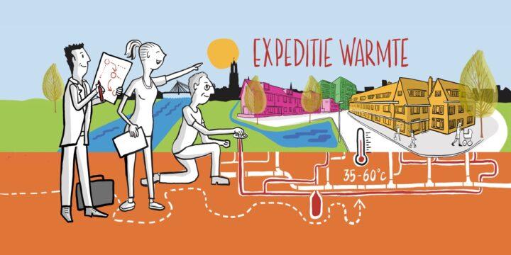 Utrecht neemt bewoners mee op 'Expeditie Warmte'