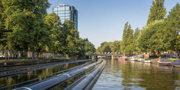 Innovatieve boringen bij koppeling van Amsterdamse warmtenetten